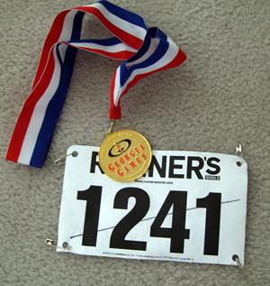 Goldmedaille 10k